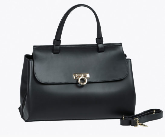Adele Vivian - Leather Bags - Heidi Black