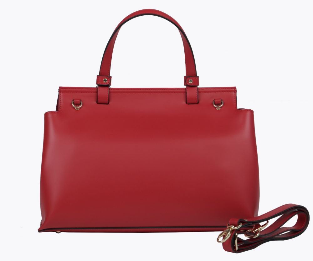 Adele Vivian - Leather Bags - Heidi Red