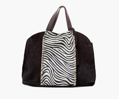 Nina Pony Dark Black Zebra